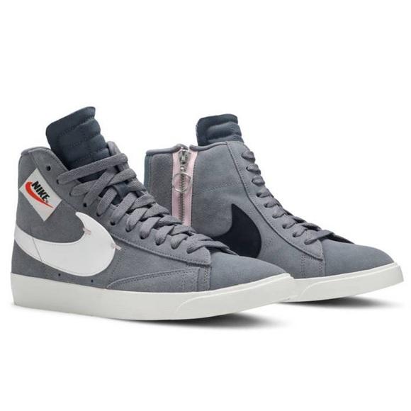 Mens Nike Blazer Mid Xx Rebel Cool Grey